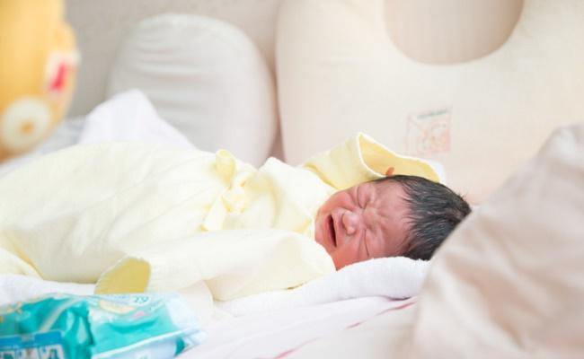 生まれたばかりの赤ちゃんのイメージ