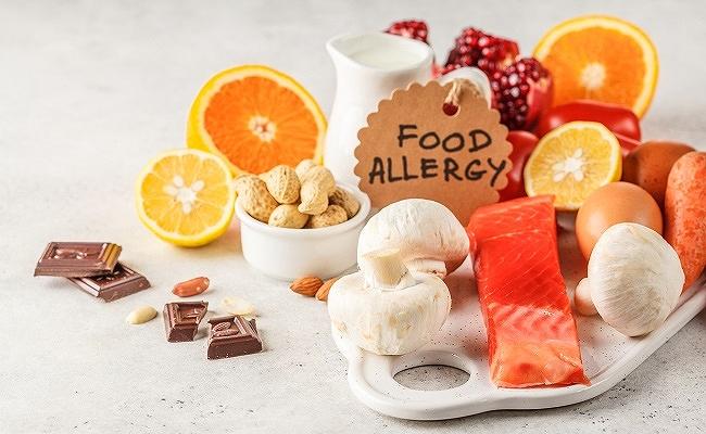 食品アレルギーのイメージ