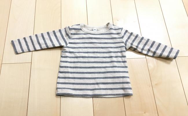 無印の長袖Tシャツ