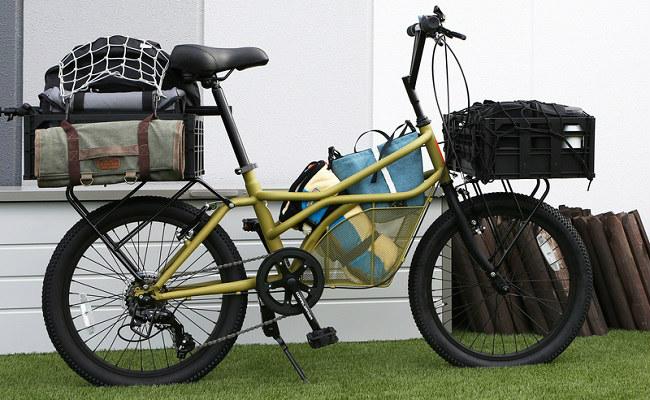 「DOPPELGANGER(R)(ドッペルギャンガー)」から新発売されたカーゴバイク「330-C RoadYacht(ロードヨット)」