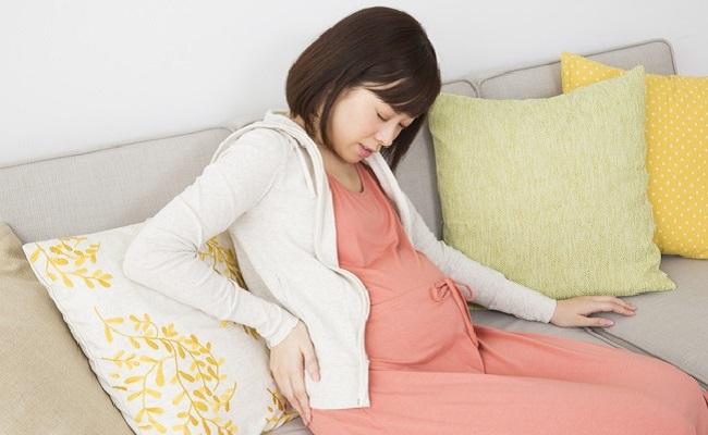 前駆陣痛妊婦
