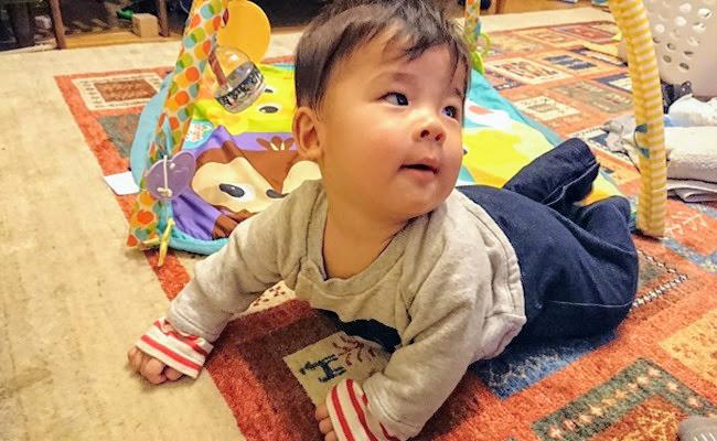 生後6カ月けいちゃん