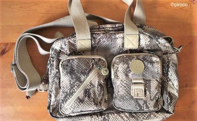 kiplingのバッグのイメージ