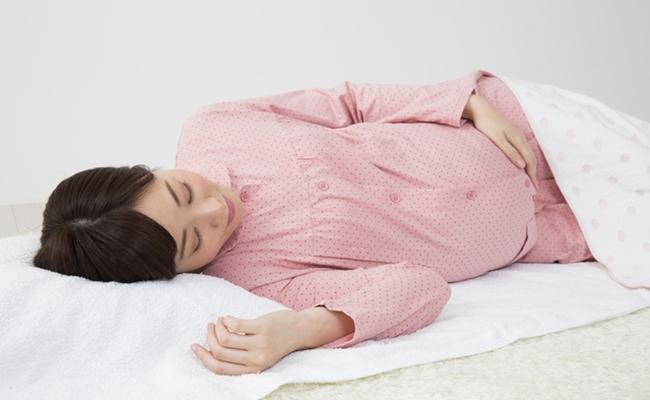 妊婦安静のイメージ