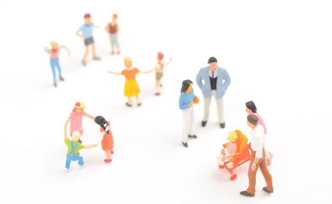 地域コミュニティのイメージ