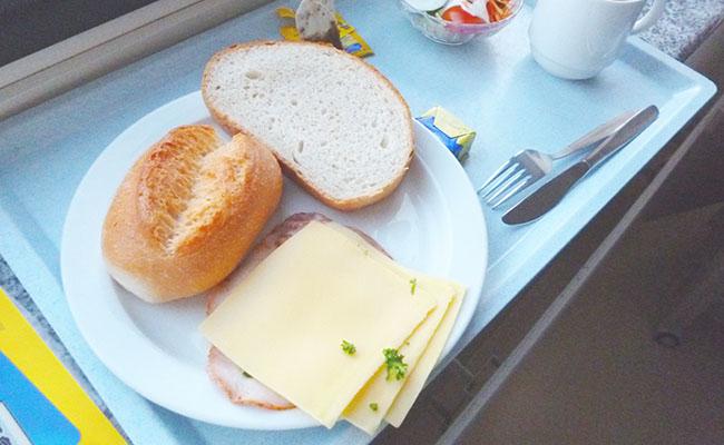 ドイツの病院食