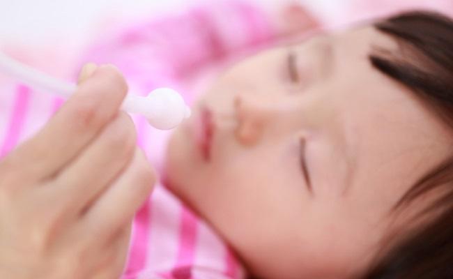 赤ちゃんの鼻水、鼻づまり