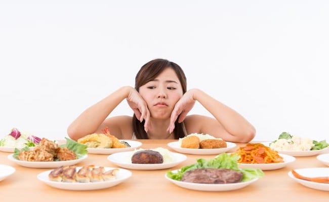 味の濃い食事のイメージ