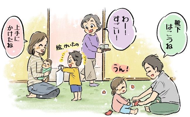 上の子2人が赤ちゃん返りで赤ちゃん3人!?