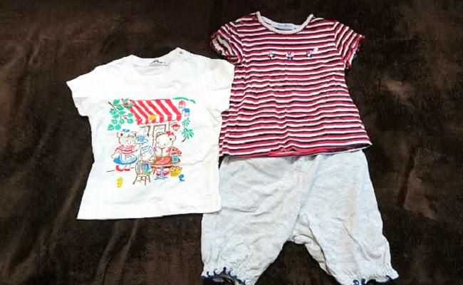 familiarの子ども服のイメージ