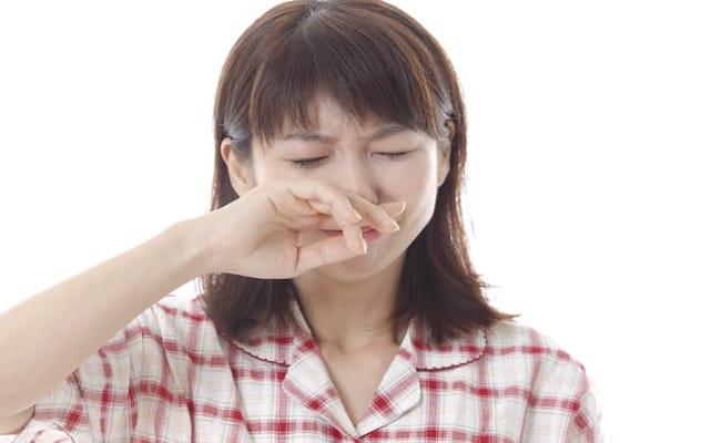 鼻血のイメージ