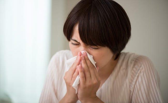 花粉症のイメージ