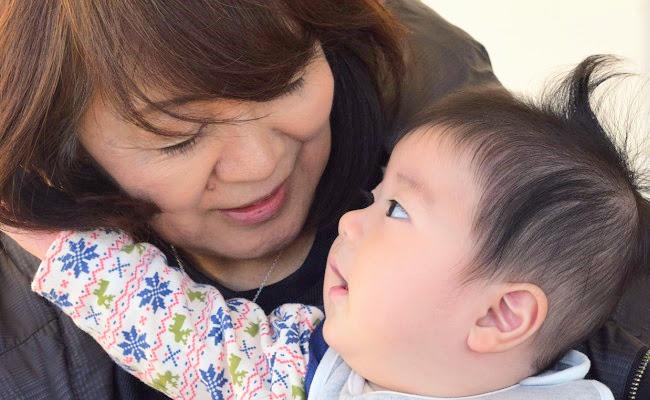 義母と赤ちゃん
