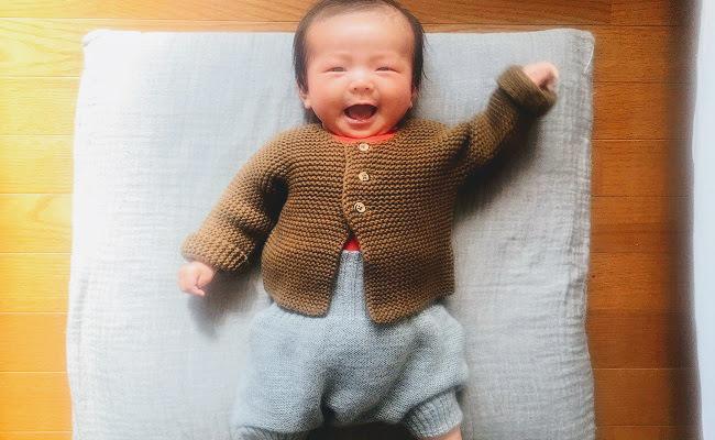 2カ月の赤ちゃん