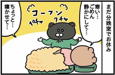 【ねこたぬのはじめて育児13】