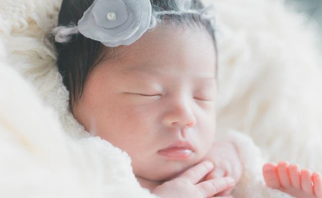 赤ちゃん(女の子)のイメージ