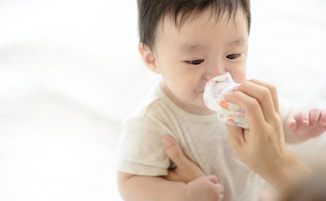 赤ちゃん鼻水のイメージ