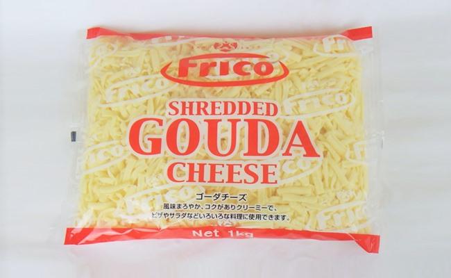 「シュレッドゴーダチーズ」