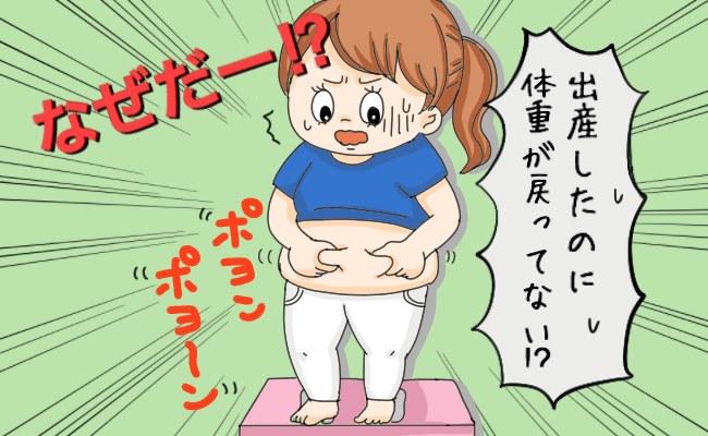 産後の体形