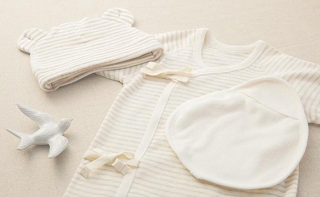 新生児の肌着