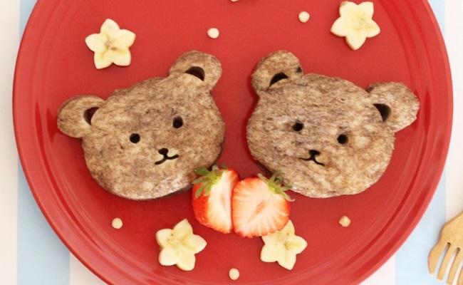 1歳~1歳6カ月ごろ(離乳食完了期)のレシピ「くまフレンチトースト」