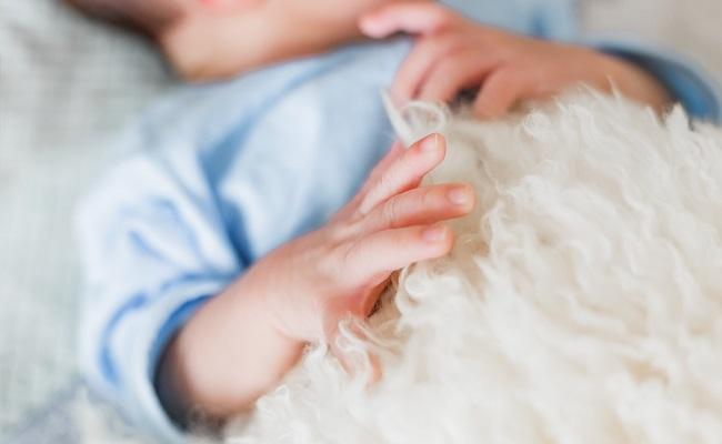 男の子の赤ちゃんのイメージ