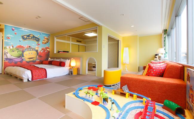 ホテルエピナール那須の「チャギントンルーム」