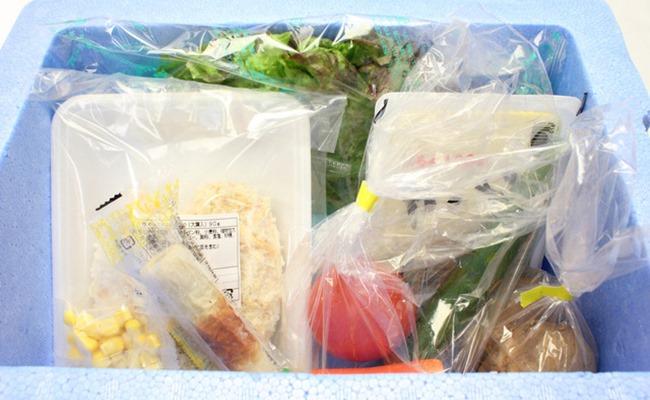 食材宅配サービスのイメージ