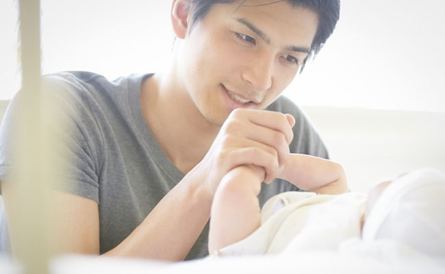 育児をするイメージ