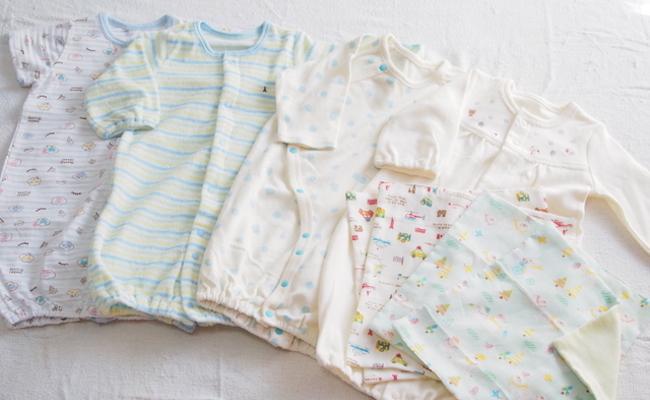 赤ちゃんの夏の服装のイメージ