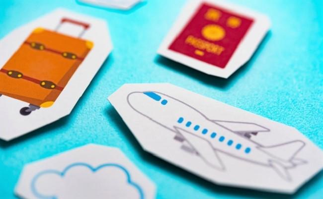 飛行機(国際線)のイメージ