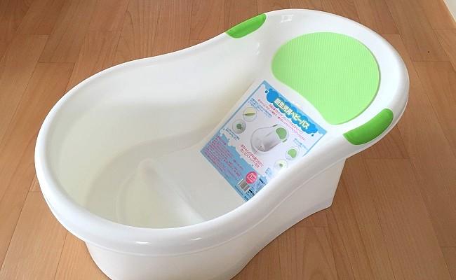 沐浴からバスチェア役まで。永和の「新生児ベビーバス」が便利!
