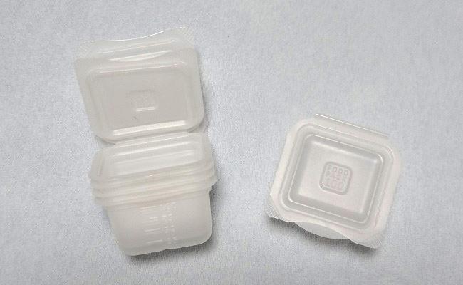 ダイソーの「くりかえし使える離乳食小分けパック」