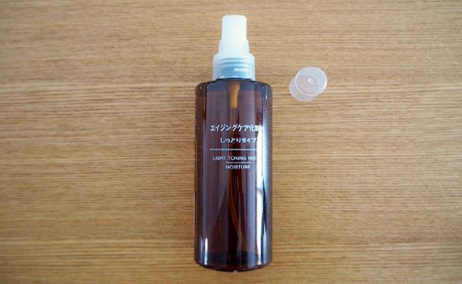 無印良品の「ポンプヘッド 化粧水・乳液用」