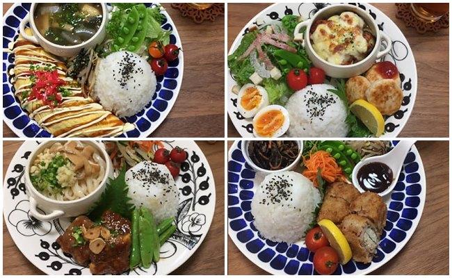低コスト食材で料理をするイメージ