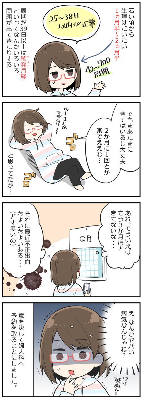 「妊活レベル1 まっふの冒険記」第1話