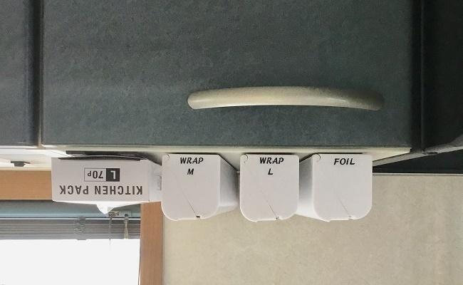 吊戸棚を使ったラク家事のイメージ