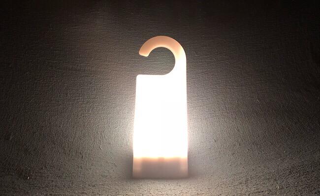 無印良品の「LED持ち運びできるあかり」