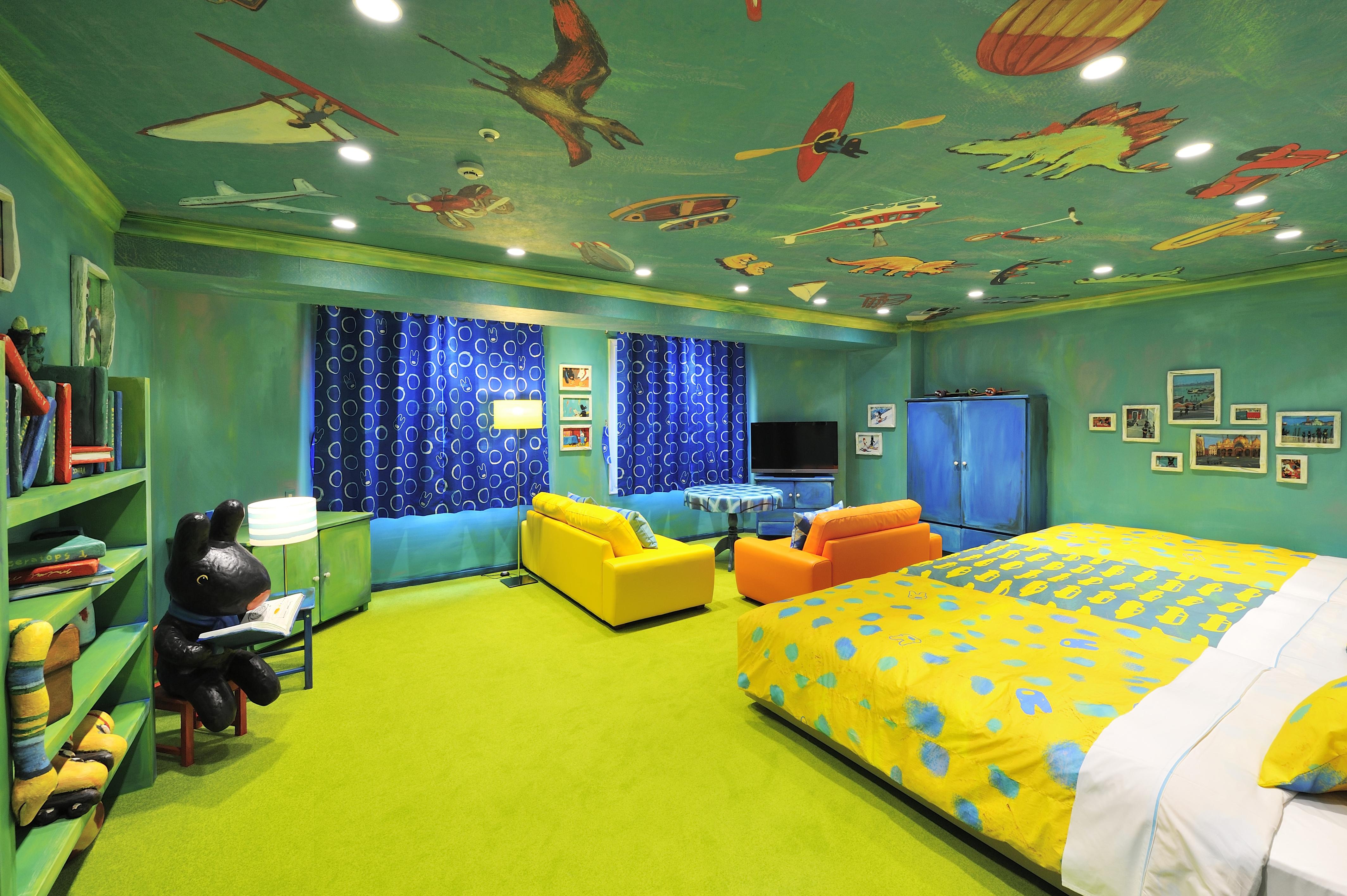 ハイランドリゾート ホテル&スパ「リサとガスパールルーム」