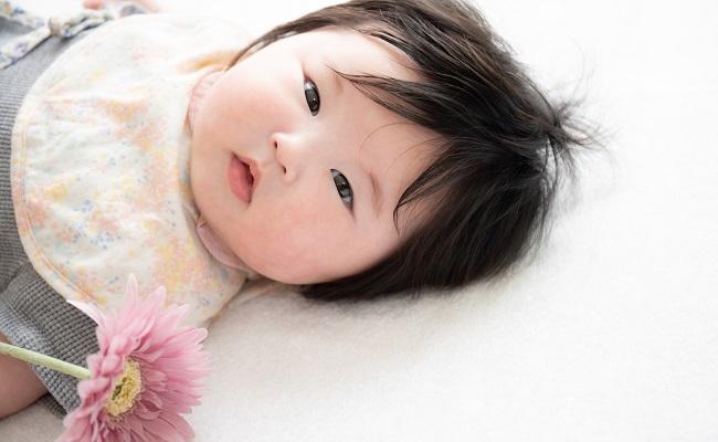 4カ月の赤ちゃん