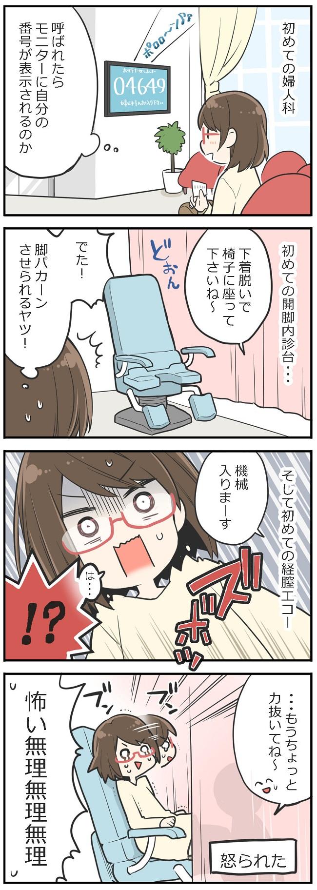 「妊活レベル1 まっふの冒険記」第2話