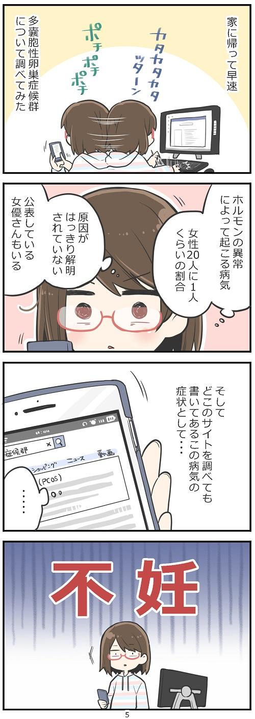「妊活レベル1 まっふの冒険記」第5話
