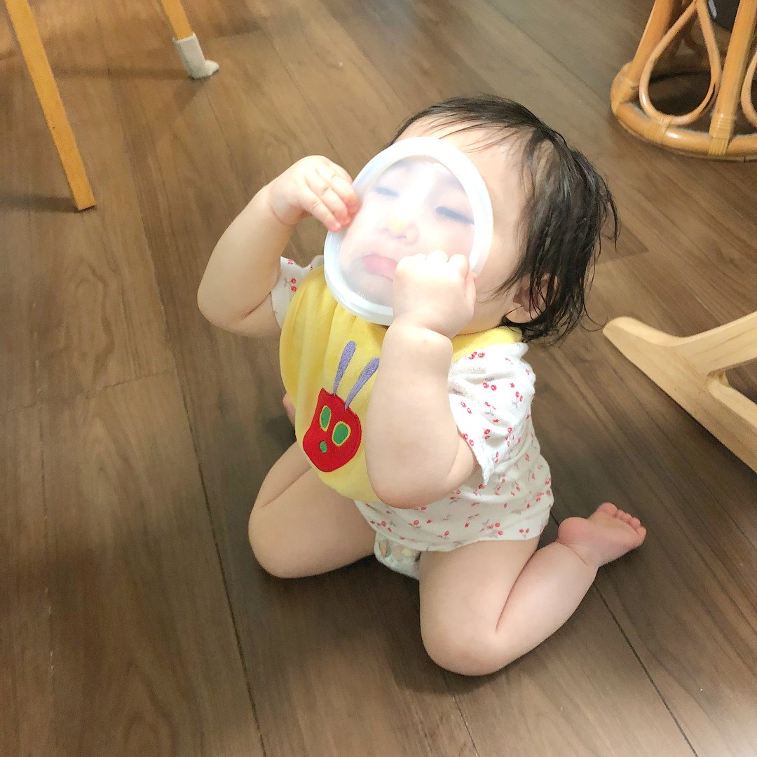 赤ちゃん衝撃変顔写真