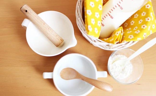 粉ミルクの活用のイメージ