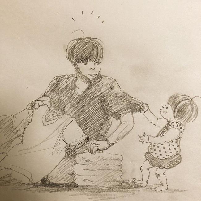 2歳の姪っ子ふみさんの愛らしいエピソード