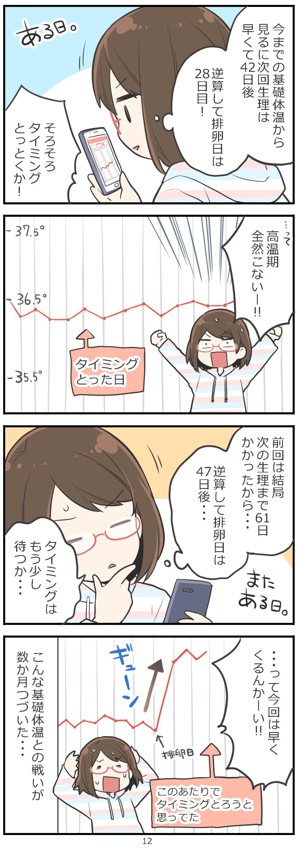 「妊活レベル1 まっふの冒険記」第12話