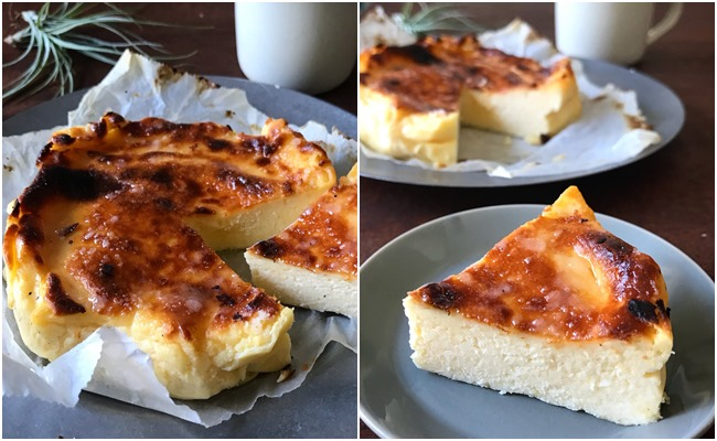 syunkon山本ゆりさんのバスク風チーズケーキ