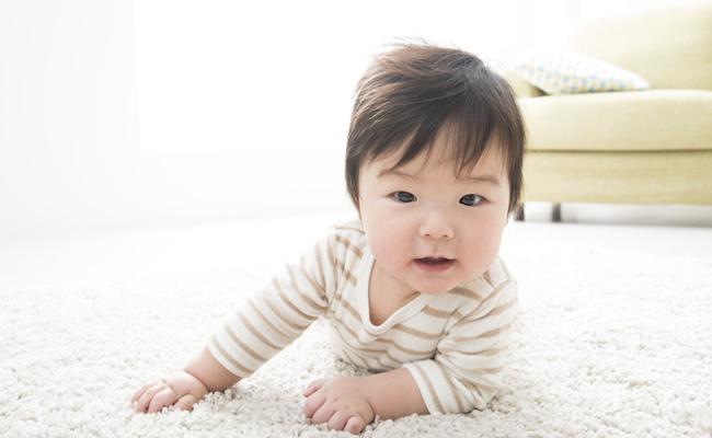 生後3~4カ月の赤ちゃんのイメージ