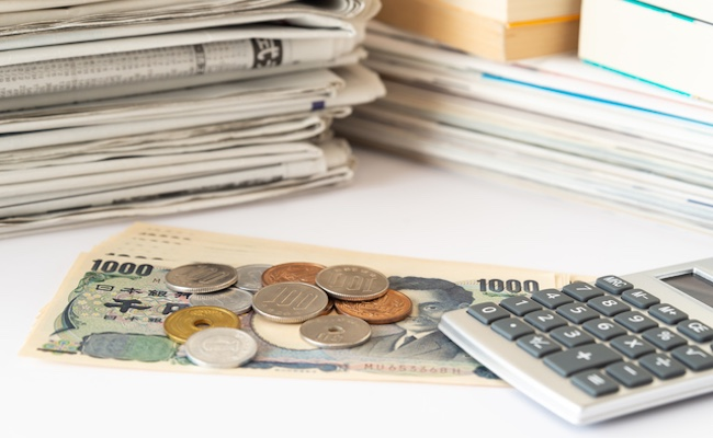 お金のニュースと家計管理のイメージ