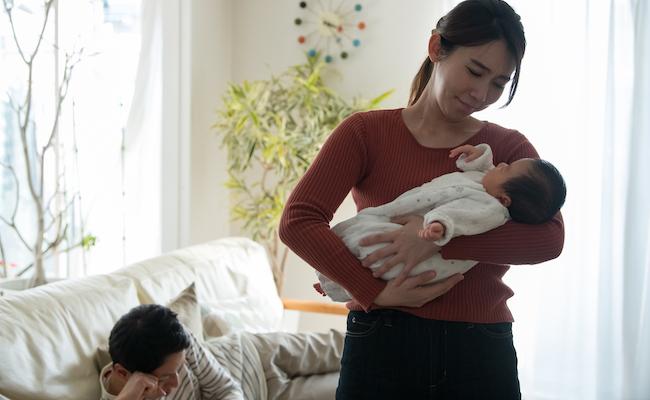 産後クライシスのイメージ